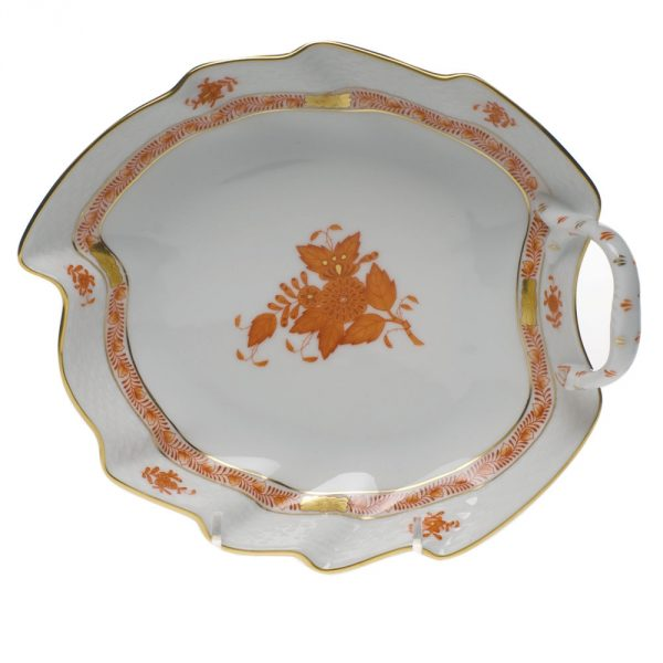 Small Leaf Dish - Chinese Bouquet (Assorted Colors)