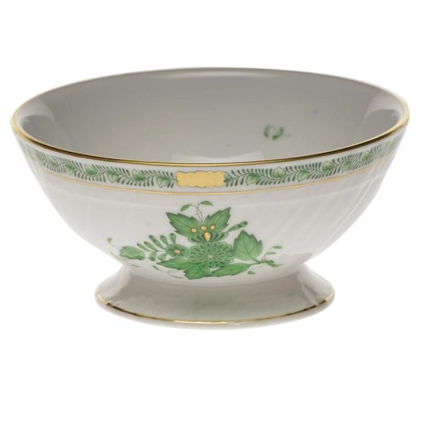 Footed bowl - Chinese Bouquet (Assorted Colors)