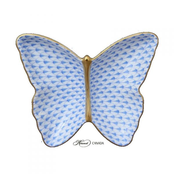 Full Fishnet Blue Pin Dish