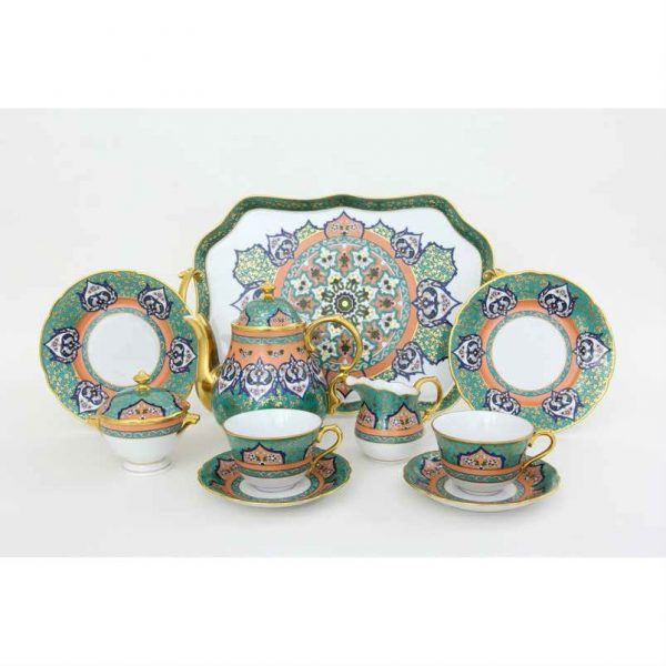Persian Teaset for 2 - Limited Edition to 50 pcs.