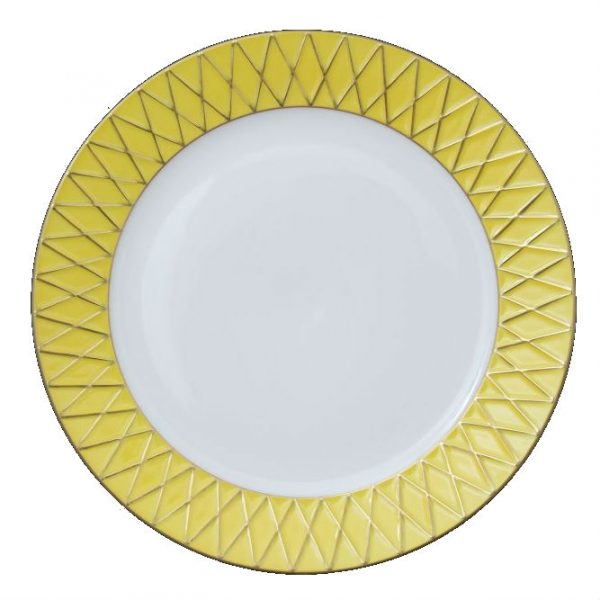 Charger Plate - Babos Rust Gold