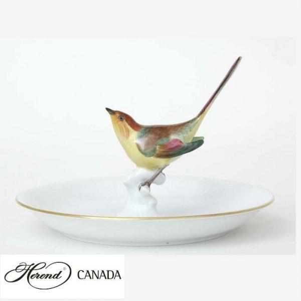 Plate with bird II.