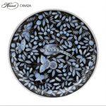 Dinner Plate - Zoo Garden Blue Platinum