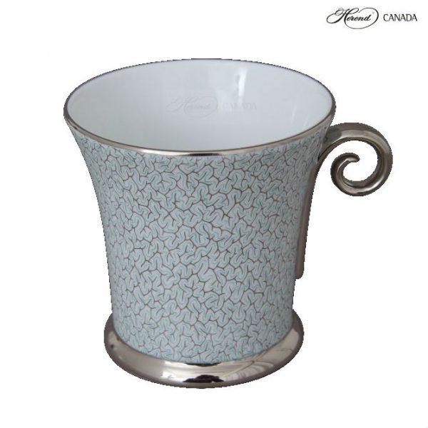 Teacup - Orient Turquoise Platinum