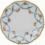 Dessert Plate - Ribbon Flower