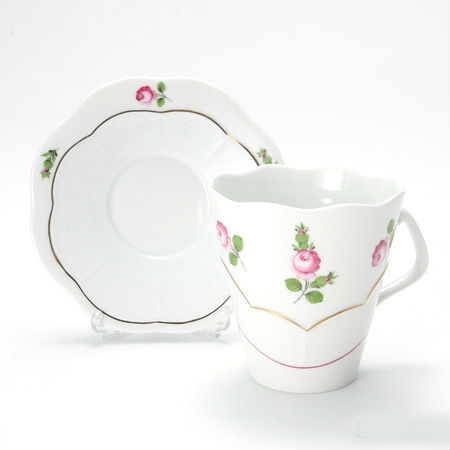 Cup & Saucer - Petite Roses