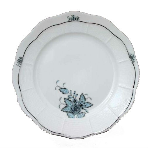 Chinese Bouquet Turquoise Platinum