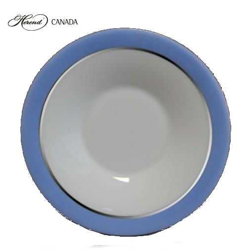Moccacup and Saucer - Onyx Blue Platinum