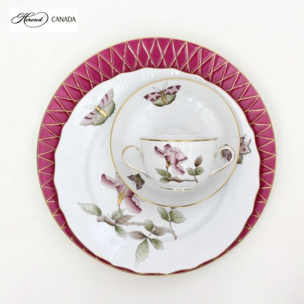 Victoria Grande Pink Set - Herend Colours