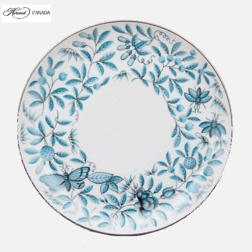 Dinner Plate - Zoo Garden Tuquoise Platinum