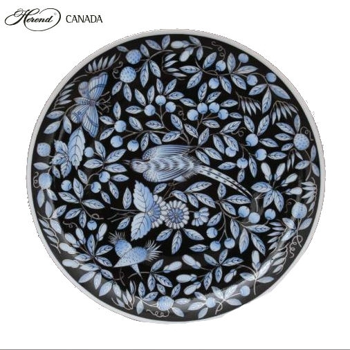 Dinner Plate - Zoo Garden Blue Platinum