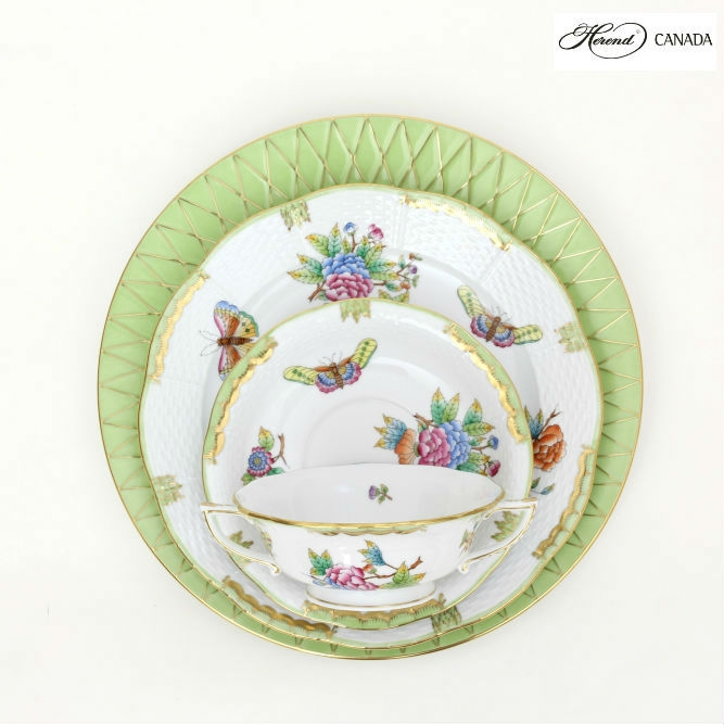 Queen Victoria - Babos Set - Herend Colours