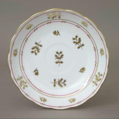 Tea Saucer - Coronation Pink