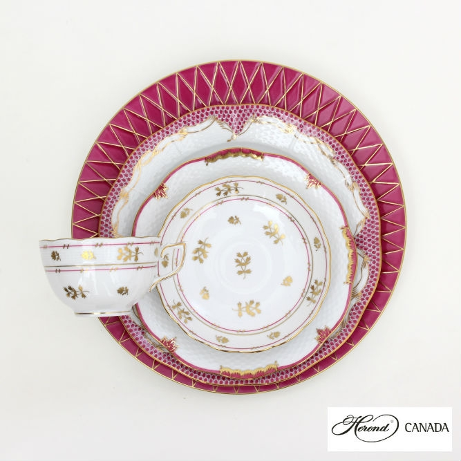 Coronation Pink Set - Herend Colours