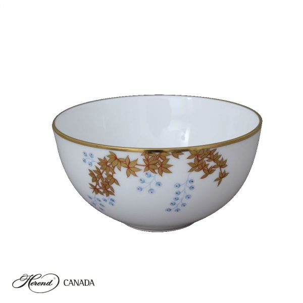 Small Oriental Bowl - Bamboo & Butterfly