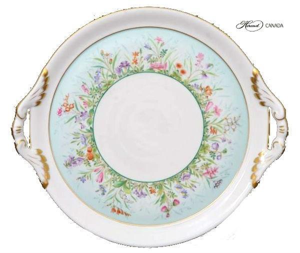Cake Plate - Oriental Showmen
