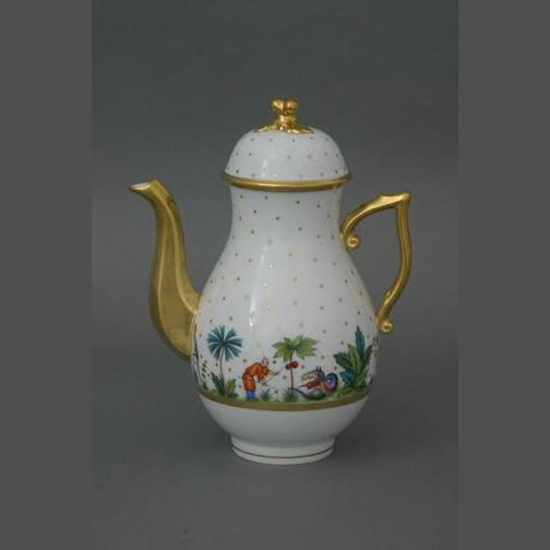 Coffeepot w. twisted knob - Oriental Showmen