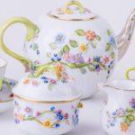 Flower-tea-set-Herend-Fleuraison