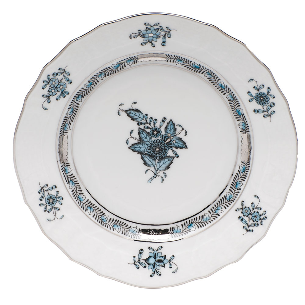 Bread & Butter Plate - Chinese Bouquet Turquise