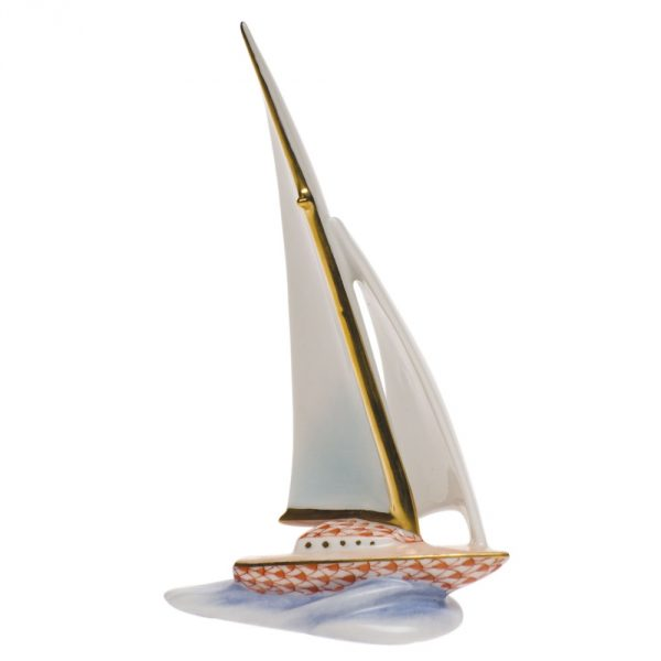 Sailing Boat - Fishnet Colors