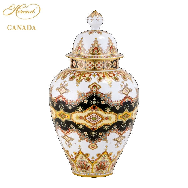 Vase, button knob - Ispahan