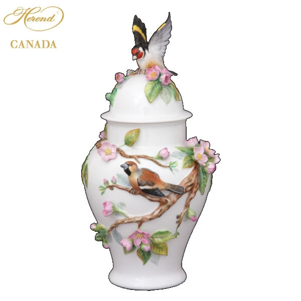 Fancy Vase - Rothschild Bird Anniversary