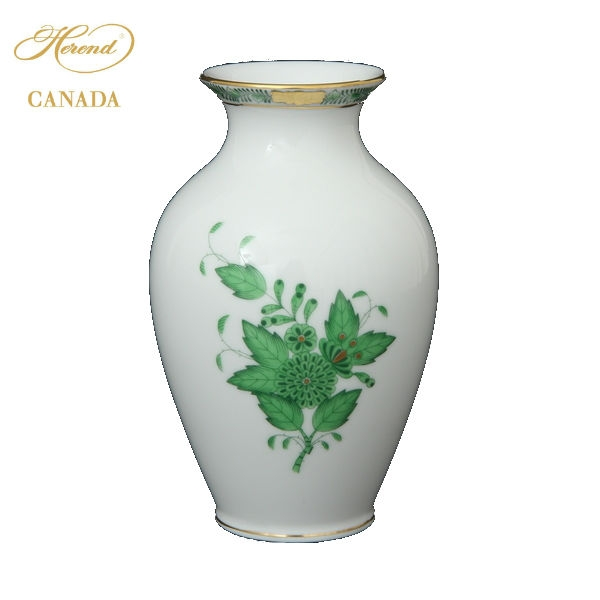 Small Vase - Chinese Bouquet Green