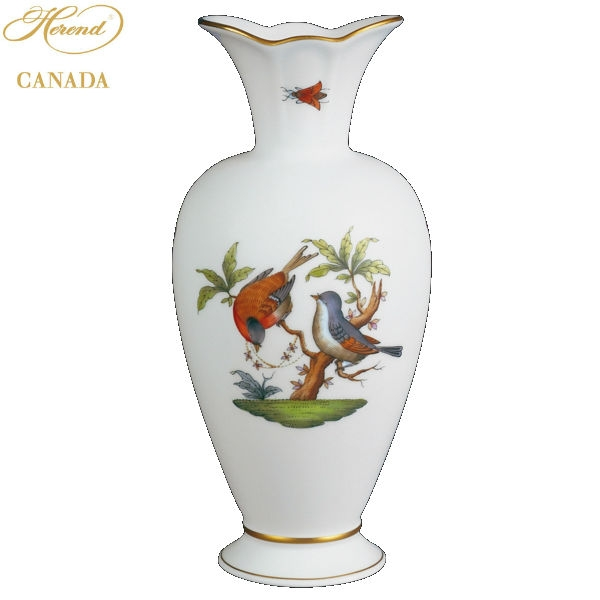 Medium Vase - Rothschild Bird