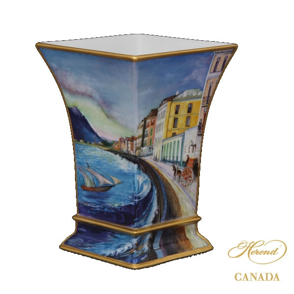 Vase - Royal Garden Blue