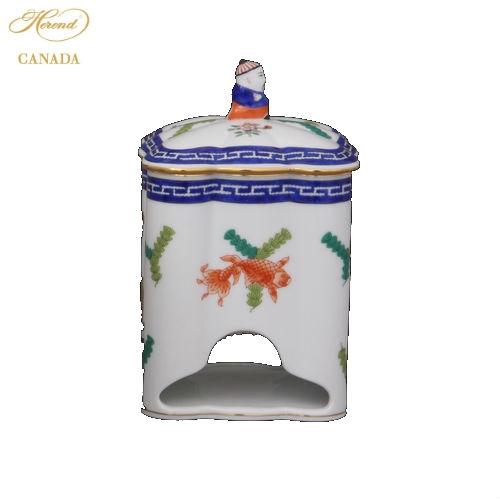 Teabag Holder, Mandarin Knob