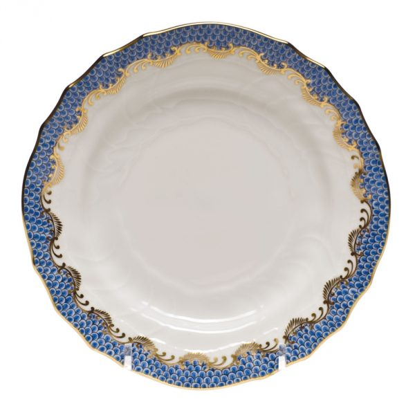 Bread & Butter Plate - Fish Scale Colors