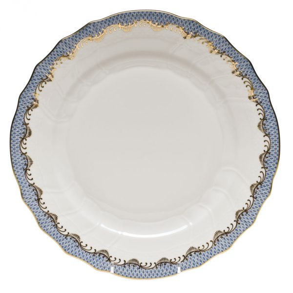 Dinner Plate - Fish Scale Colors