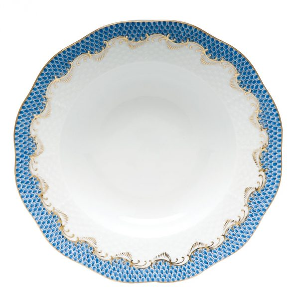 Rim Soup Plate - Fish Scale Colors