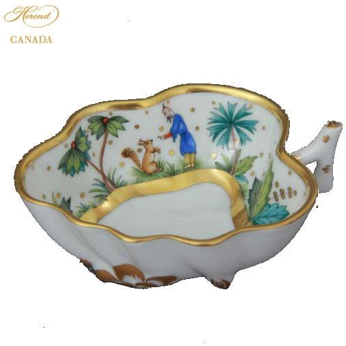 Sugar Bowl (Leaf shaped) - Chinese Bouquet