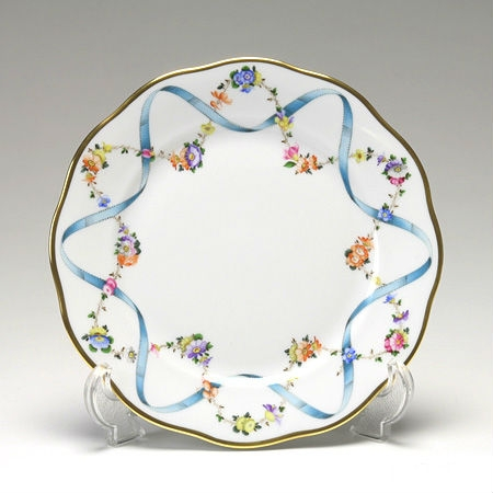 Salad Plate - Ribbon Flower