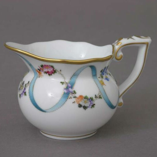 Creamer Medium - Ribbon Flower