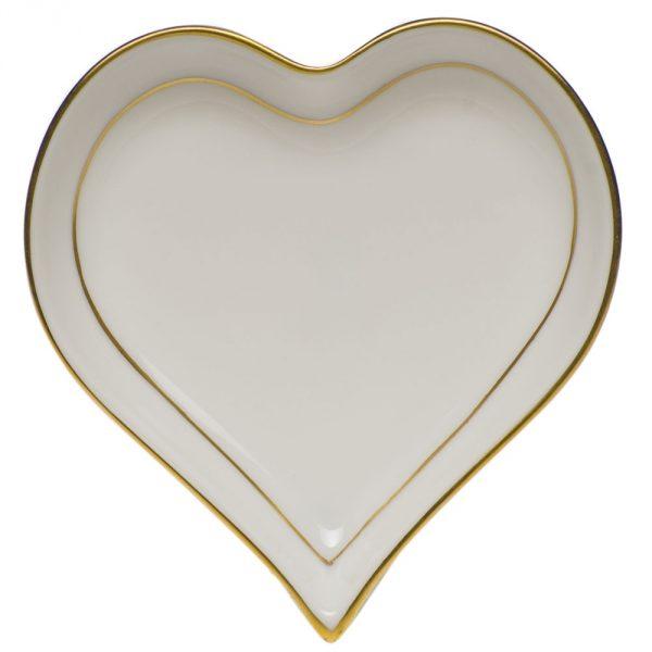 Small Heart Tray - Petite Blue Garland