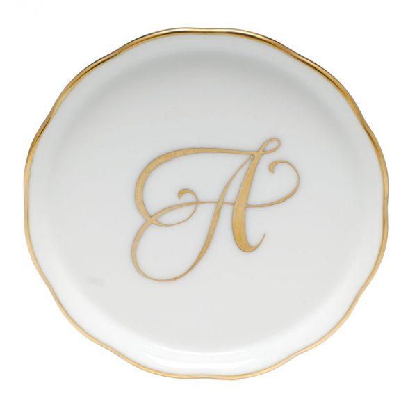 Coaster - Gold Monogram