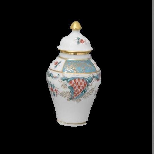 Small Vase, mandarin knob - Oriental Showmen