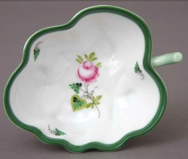 Sugar Bowl (Leaf shaped) - Vienna Rose