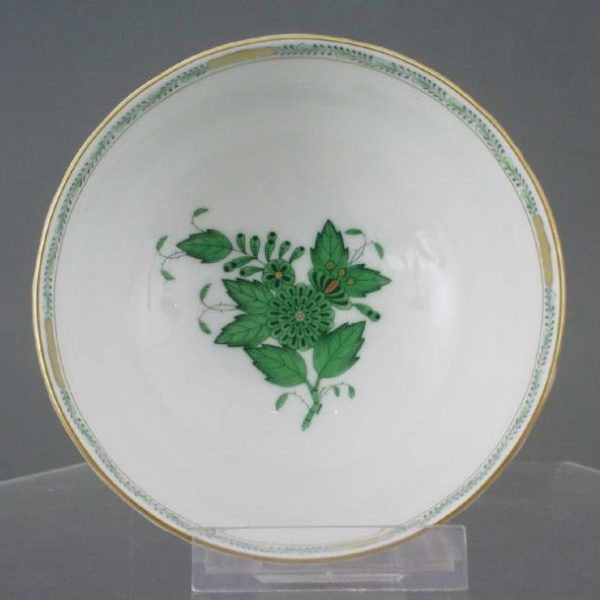 Cereal Bowl - Chinese Bouquet Green