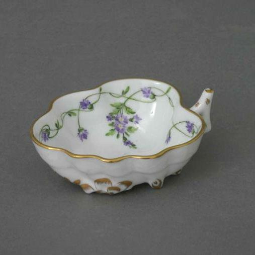 Sugar Bowl (Leaf shaped) - Vienna Rose