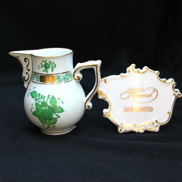 Milkjug - Chinese Bouquet Green