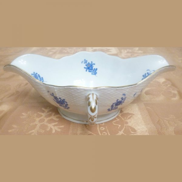 Gravy boat - Chinese Bouquet Green