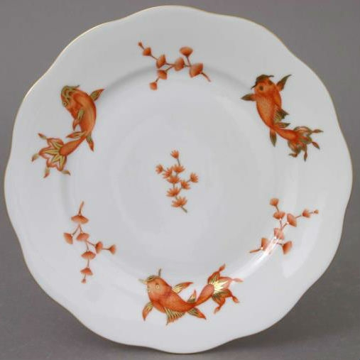 Salad Plate - Coy Fish Black
