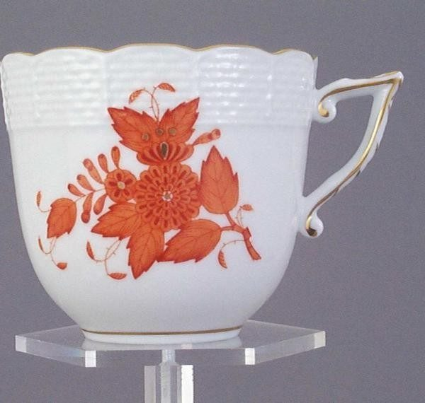 Coffee Cup and Saucer - Chinese Bouquet Pink