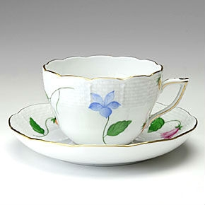 Campanule Multicolor - Coffeecup and Saucer