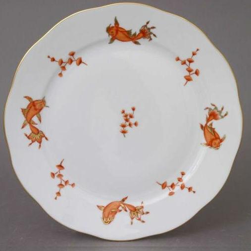 Dinner Plate - Mushrooms of Forest
