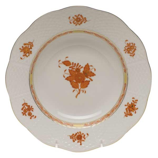 Salad Plate - Chinese Bouquet Green