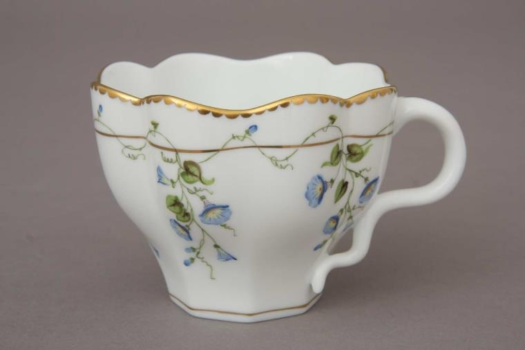 Morning Glory - Teacup and Saucer
